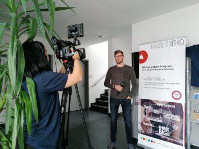 Interview des Geschäftsführers Andreas Schweiger zu der Teilnahme am Silicon Valley Program